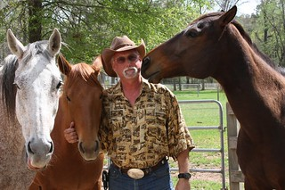 R.T. Fitch and his horses