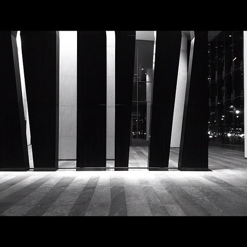 Lobby keys. #blackandwhite #monochrome #cityscape #manila #photographyeveryday #philippines #igersasia #igersmanila #instamood #instaphilippines #picoftheday #photooftheday #monochromatic #makati #lines #shades #instagood