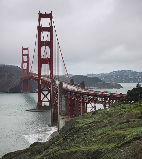 A Rainy January Day - Golden Gate - 2010
