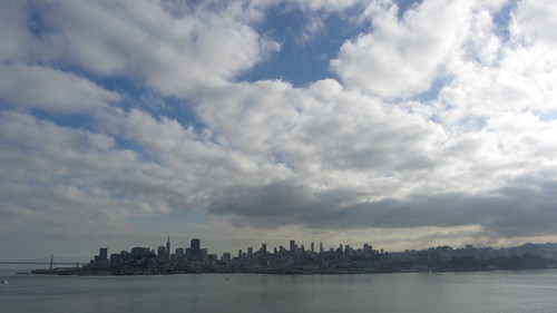 san francisco from the rock