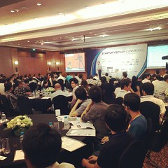Startup Vietnam Conference. OMG Lot of people than I thought #PomVN #StartupVN