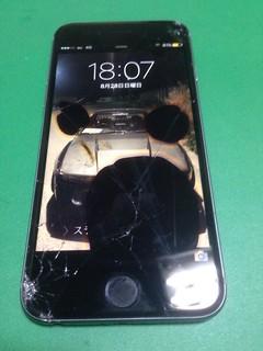171_iPhone6Sのフロントパネル液晶割れ