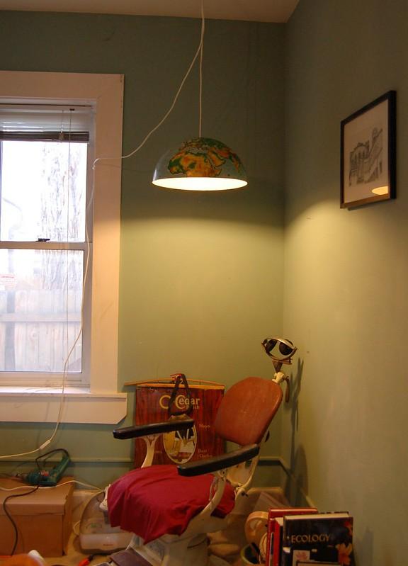Globe Lamp DIY Project