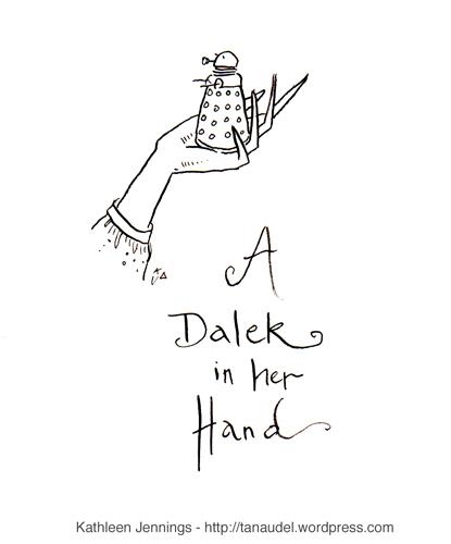 A Dalek in Her Hand