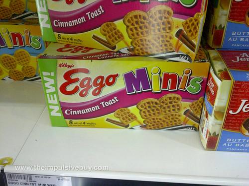 Eggo Cinnamon Toast Minis