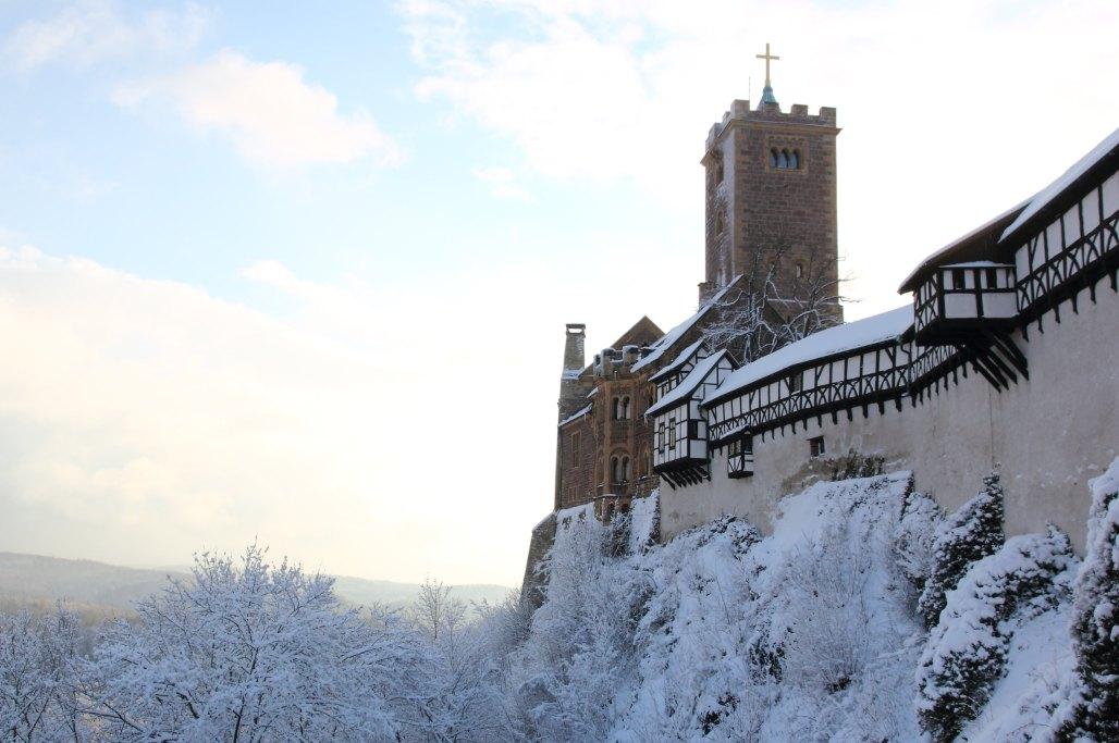 Wartburg with snow | Schnee auf der Wartburg *Winter 2012, Eisenach* EXPLORED
