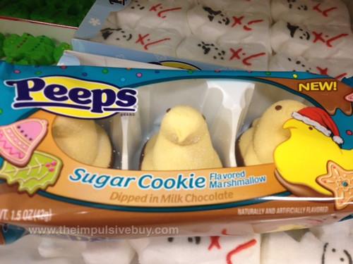 Peeps Sugar Cookie