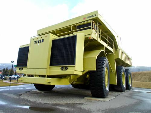World's Largest Truck - 1973 Terex Titan 33-19 dump truck