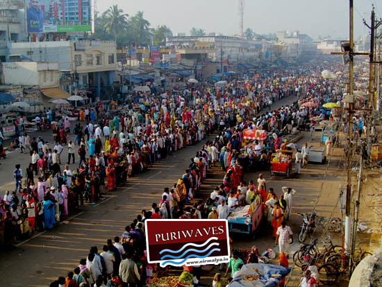 Kartika Purnima At Puri