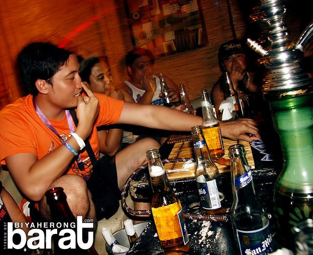 Drinking games in boracay island