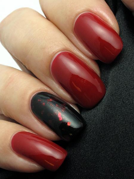 China Glaze Red Satin