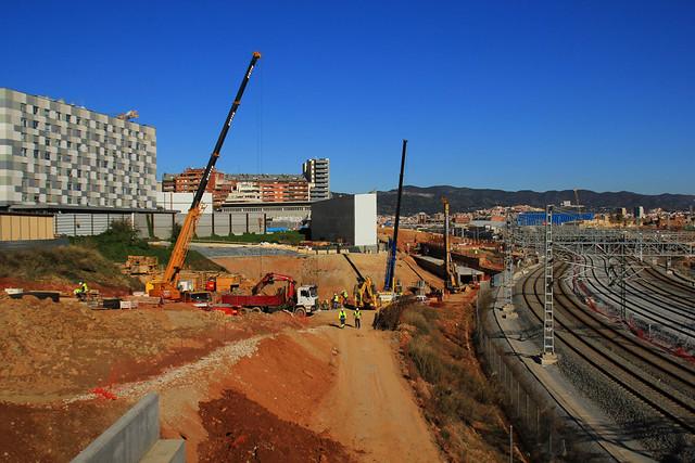 Vista desde el nuevo puente del Trabajo - Norte - 5-12-12 - © Marc Arroyo