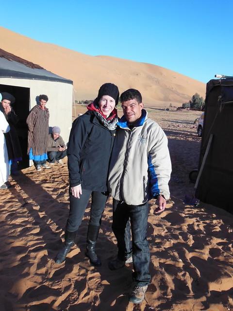 with Hamid