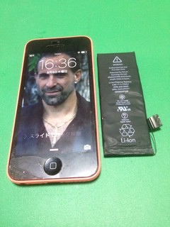 179_iPhone5Cのバッテリー交換