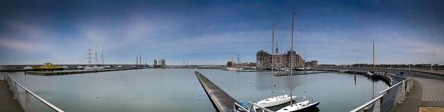 Panorama Bataviahaven Lelystad (04-11-2012).