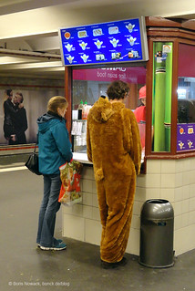 Berliner Bär hat Hunger