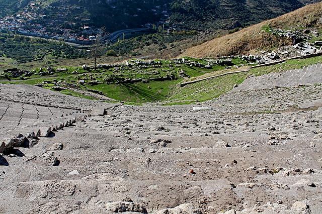 Amphitheatre at Bergama