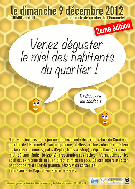 Le miel des habitants de Roubaix