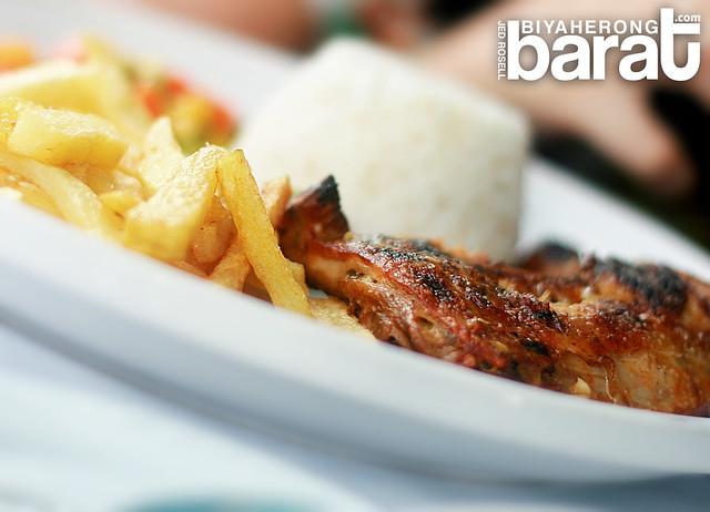 Grilled Chicken in Manos Greek Taverna Tagaytay city restaurant