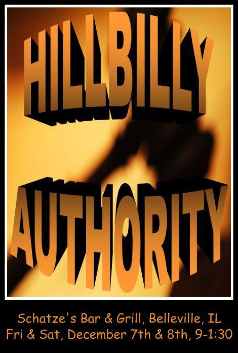 Hillbilly Authority 12-7,8-12
