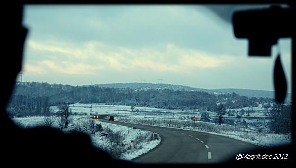 driving to Stara Planina