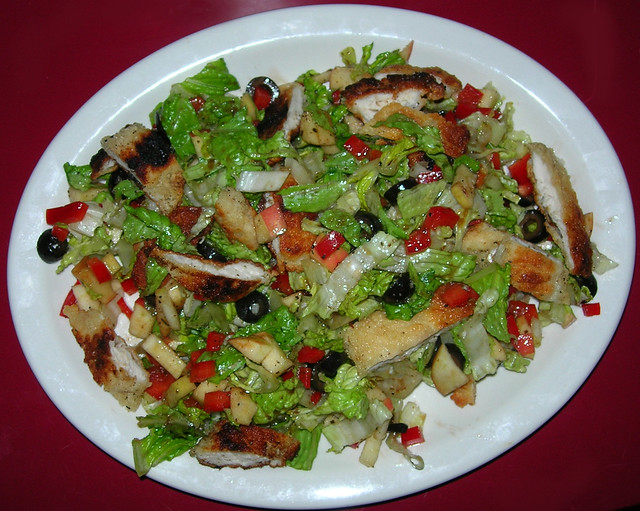 Dinner Salad with Chicken