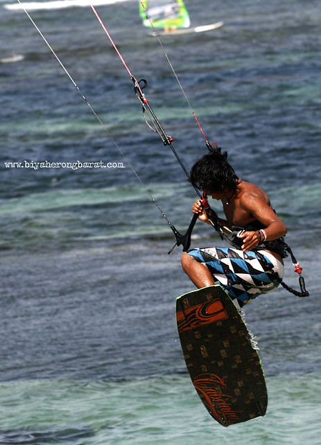 Kite Surfing in Ilocos Norte