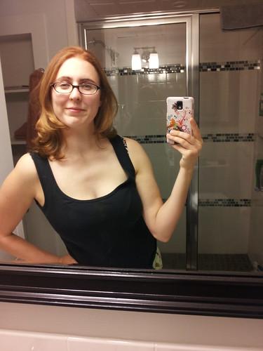 hairs cut!