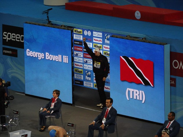 George Bovell III at Istanbul 2012