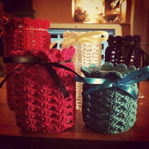 #crochet #jar