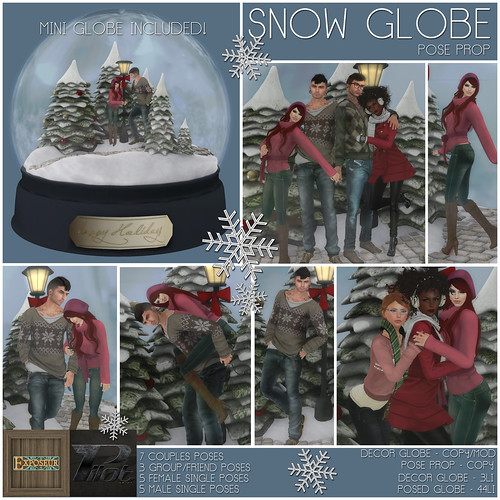 Pilot & Exposeur - Snow Globe