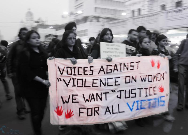 Protest Rally against Delhi gang rape