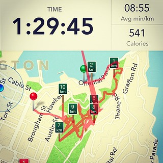 Well the GPS on this app is way off. But you get the general idea. #igfitness