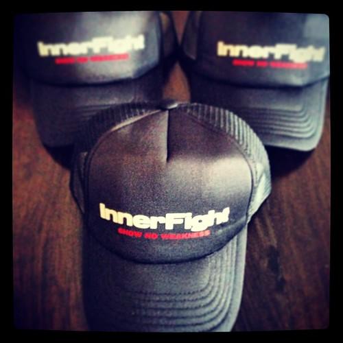 Trucker caps back in stock! #caps #trucker #apparel #merchandise #awesome #branded #innerfight #ordernow