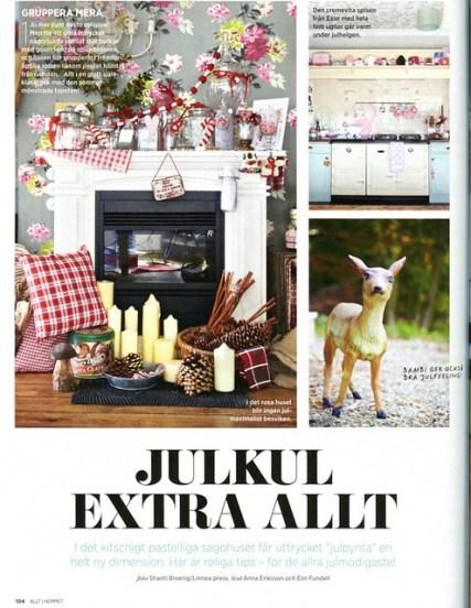 Our House in Allt i Hemmet Magazine Schweden