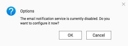ถ้าเกิดยังไม่ได้เซ็ต e-mail notification ก็จะไปเซ็ตกันตอนนี้