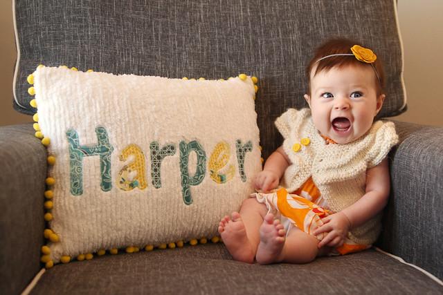 Harper at 3 months