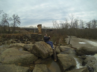 Alan at Pelham Mill Ruins
