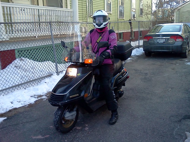 Heading off to work on Friday, January 7, 2013