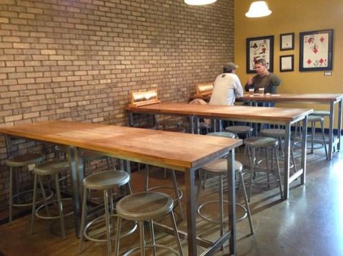 Jubala Coffee seating