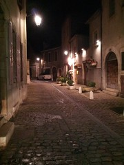 alley in Beaune, Burgundy, France