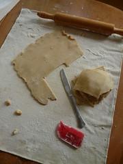 Rolling Empanada Dough