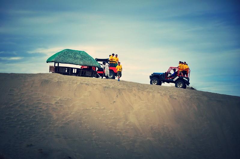 La Paz Sand Dunes, Laoag, Philippines
