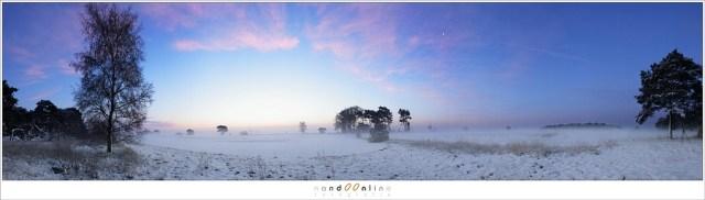 Voorkomen van lange, smalle panorama foto's - een smal panorama van 12 opnamen