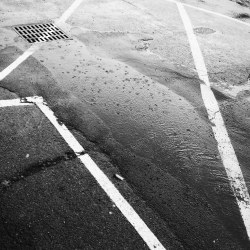 Parking Lot Lines - iPhone Photography Project #iPP