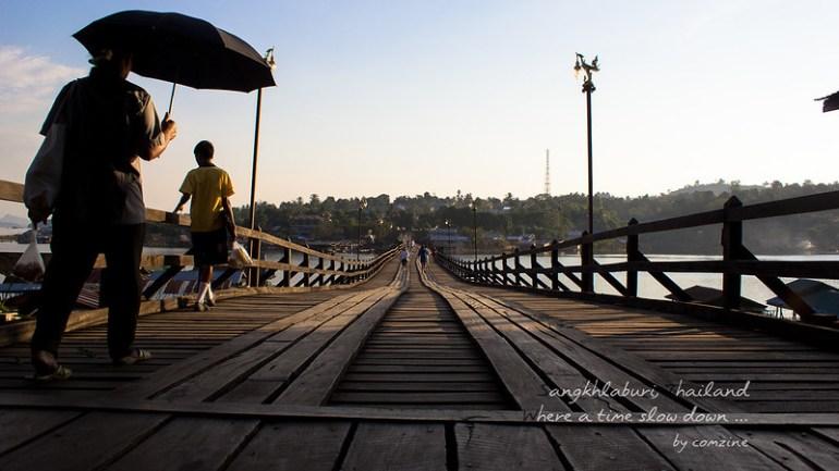 โรงเรียนเลิก สะพานมอญ - สังขละบุรี
