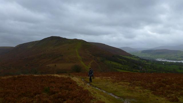 Mynydd Llangorse,  Mynydd Troed, Cockit Hill