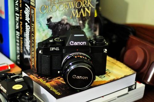 Ατελείωτη δυναμική με τη Canon F-1N
