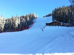 Unterhalb der Jägerhütte, Skigebiet Helm