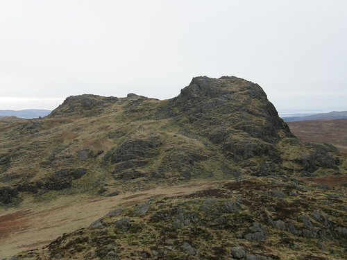 Green Crag from Crook Crag